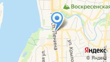 Департамент финансов Томской области на карте