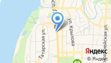 Национальный исследовательский Томский государственный университет на карте