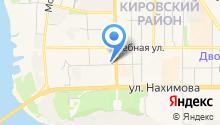 Госпитальные клиники им. А.Г. Савиных СибГМУ на карте