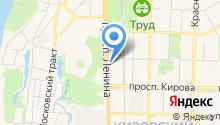 Муниципальная аптечная сеть, УМП Томскфармация на карте