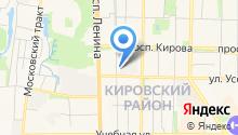 Datacenter на карте