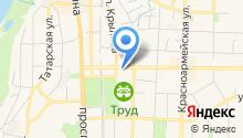 D.A. Проект на карте