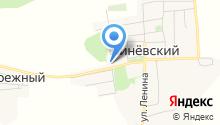Линёвская средняя общеобразовательная школа на карте