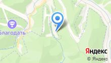 Белокуриха, детский санаторий на карте