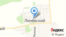 Администрация Линёвского сельсовета Смоленского района на карте