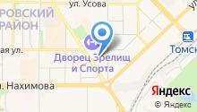 Cтудия стиля «Арт-Деко» - Салон красоты в Томске  на карте