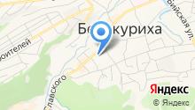 Межгород на карте