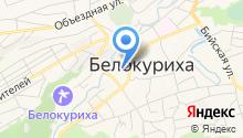 Белокуриха город-курорт на карте