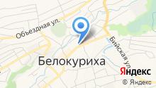 Городское такси на карте