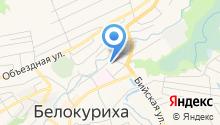 Русская на карте