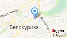 Диксис на карте