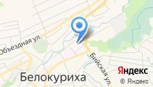 Сандуны Алтай на карте