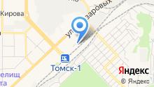 MAN центр Томск на карте