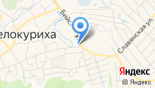 Белокурихинский межрайонный следственный отдел на карте