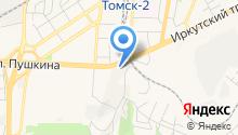 ТомскАСУпроект на карте