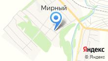 Магазин горячего хлеба на карте