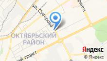 Томсктелеком, ЗАО на карте