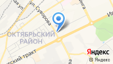 Еврошина Томск на карте