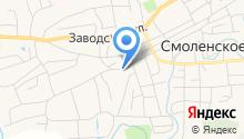 Судебный участок мировых судей Смоленского района Алтайского края на карте