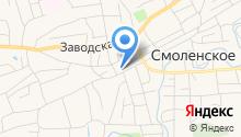 Смоленская средняя общеобразовательная школа №2, МБОУ на карте