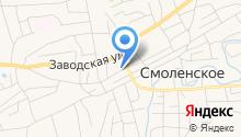 Центр занятости населения Смоленского района, КГБУ на карте