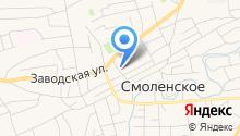 Связь на карте