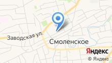 Государственная инспекция по надзору за техническим состоянием самоходных машин и других видов техники Смоленского района на карте