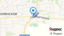 Смоленский на карте
