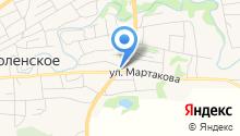 Грильник на карте