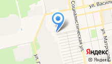 Автомастерская на карте