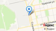 Алтайский промышленный центр на карте