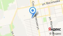 Автомойка на ул. Чайковского на карте