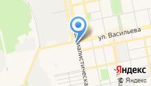 Алтай-Рос на карте