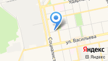 Алтайское краевое управление инкассации на карте
