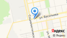 Liga GSM на карте