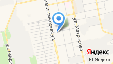 Алтайский центр педикюра на карте