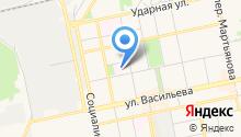 Алтайский краевой центр по профилактике и борьбе со СПИДом и инфекционными заболеваниями на карте