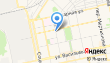 Vias на карте