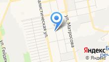 Аланд на карте