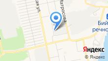 Автостоянка на Ленинградской на карте