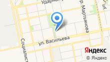 Ануй на карте