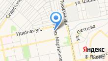 Анастасия на карте