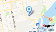 Алтай-Селигор на карте