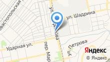 АСБ на карте
