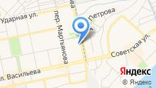 Автомойка на Трофимова на карте