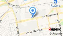 Алтайские фейерверки на карте