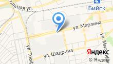 Анютка на карте