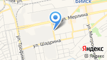 Алтай-Командор на карте