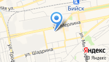 Алтай ЖД Сервис на карте