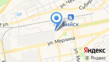 Алтаймолпром на карте